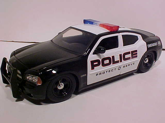 Unmarked Dodge Charger Police Car. 2006 DODGE Charger GT 8in