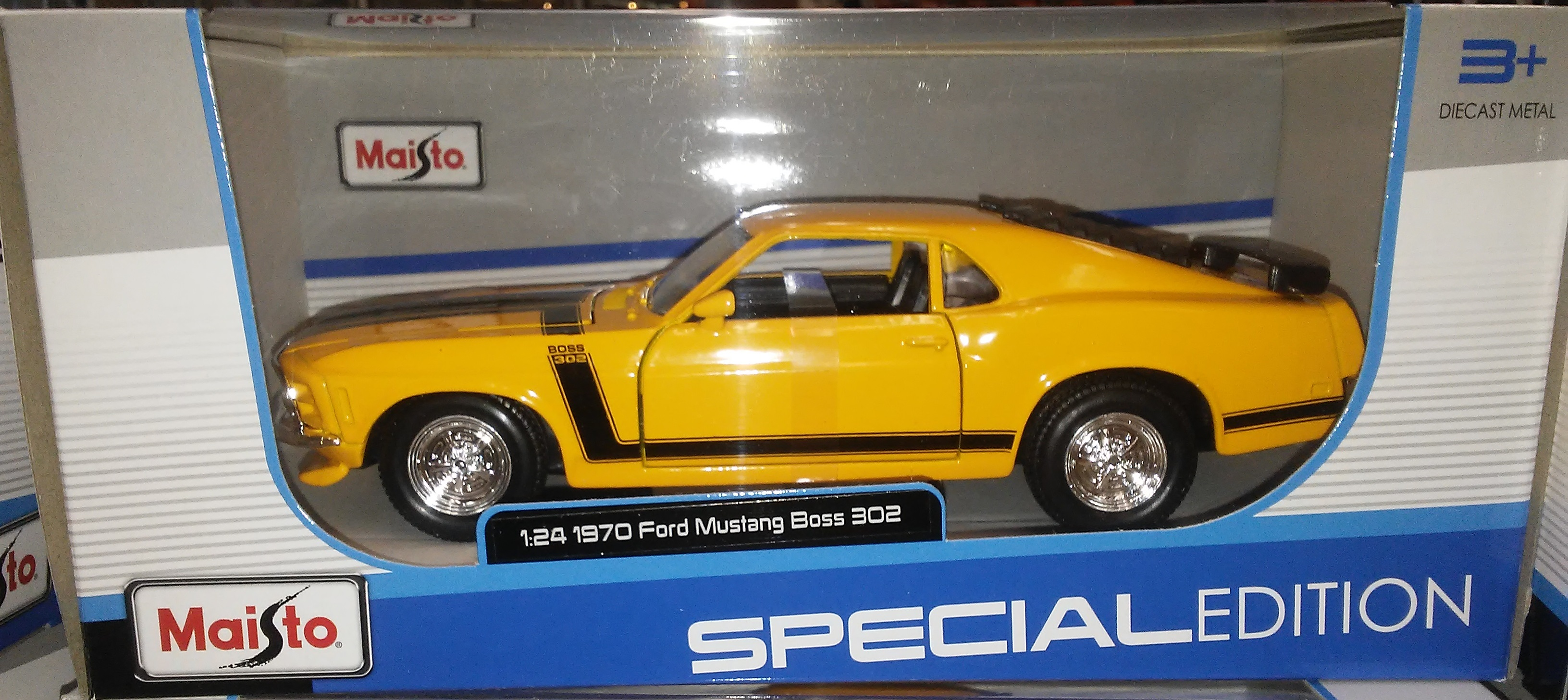 World Famous Classic Toys Ford Mustang Gt Boss 302 1970 Fastback