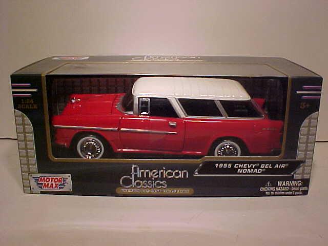 1953 Chevy Bel Air Die-cast Car 1:24 Jada Toys Showroom 8 inch GREEN White Walls