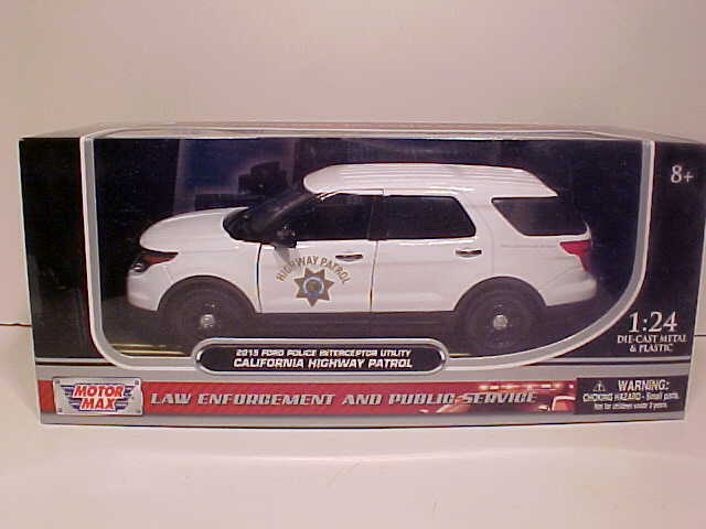 World Famous Classic Toys Police Cars, Highway Patrol